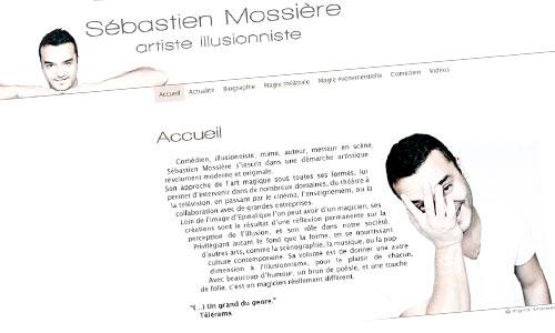 SÉBASTIEN MOSSIÈRE // 2013 // WEB DESIGN